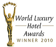 Tuvana Hotel World Luxury Hotel Awards 2010 Winner