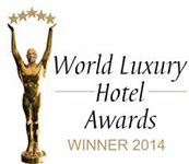 Tuvana Hotel World Luxury Hotel Awards 2014 Winner