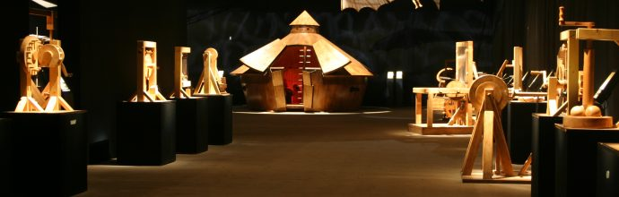 Leonardo Da vinci Exhibition Expo Antalya 2016